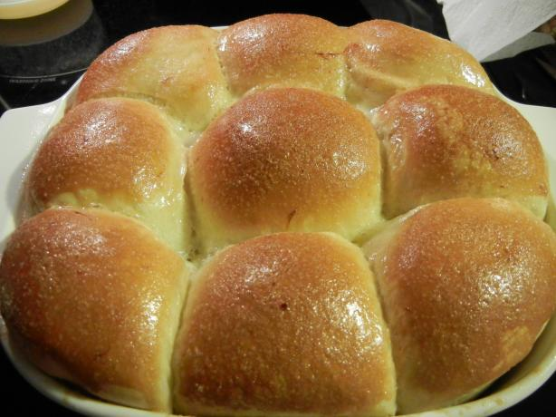 Honey Pan Rolls