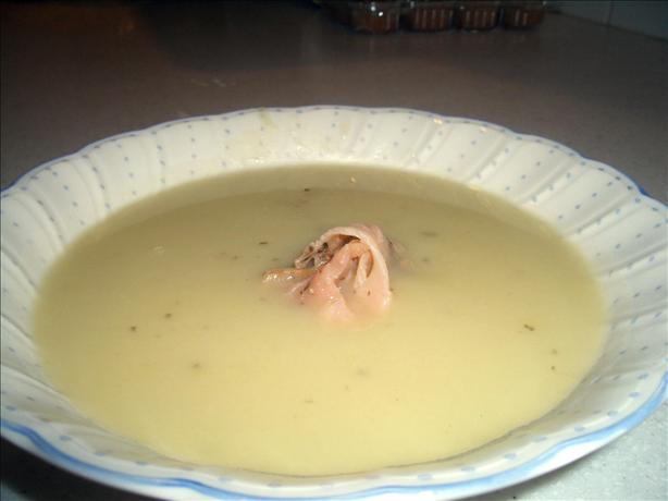 Fennel Vichyssoise With Smoked Salmon