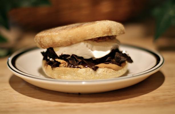 Peanut Butter Cup Sandwich