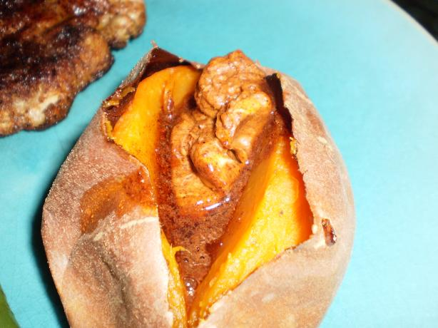 Baked Yams With Cinnamon-Chili Butter