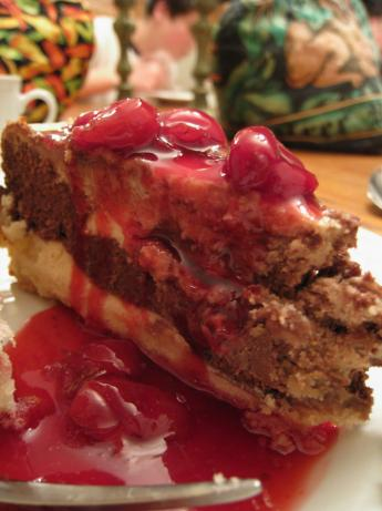Port Cherry Topping for Cheesecake