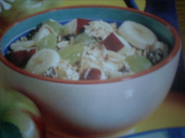 Fruity, and Healthy Oatmeal