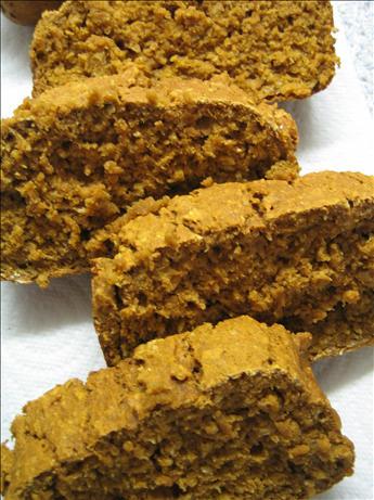 Pumpkin Oatmeal Loaf (Fat-Free)
