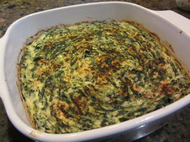 Best Ever Spinach Souffle