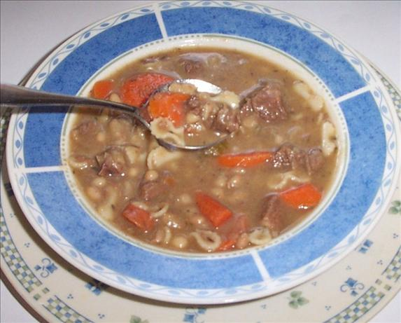 Jackie's Beefy Bean Soup
