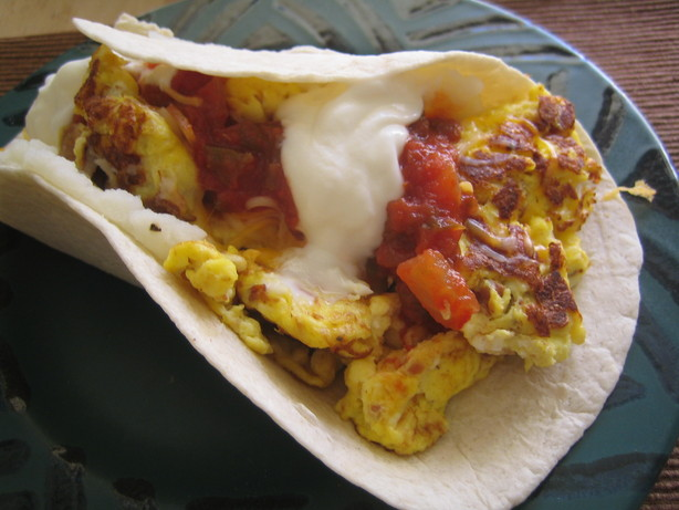 Breakfast Burrito Ala Idaho
