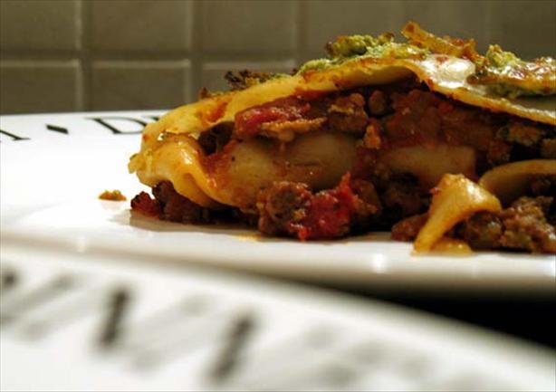 Healthier Lasagna/Lasagne