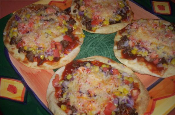 Mini Mexican Pizzas