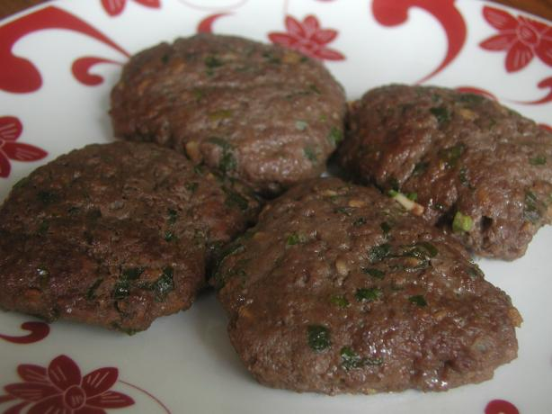 Korean Beef Patties