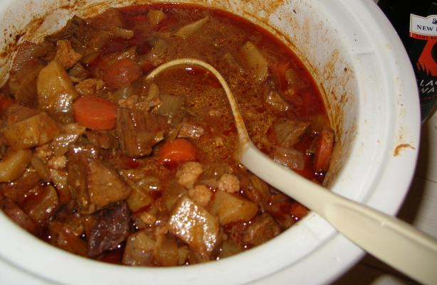 Crock Pot Spanish Inspired Beef Stew