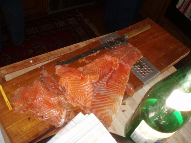 Easy and Simple Gravlax