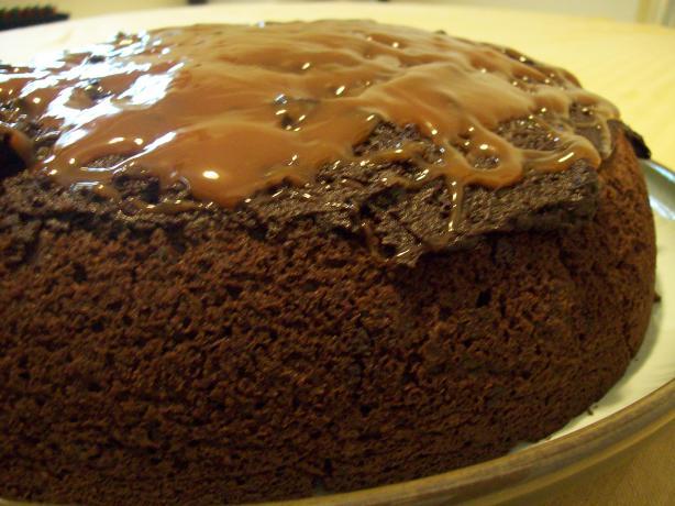Turtle Fudge Skillet Cake