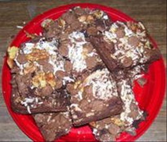 Rebecca's Coconut Brownies