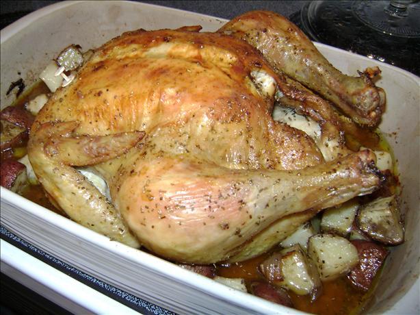 Sunday Dinner Roast Chicken