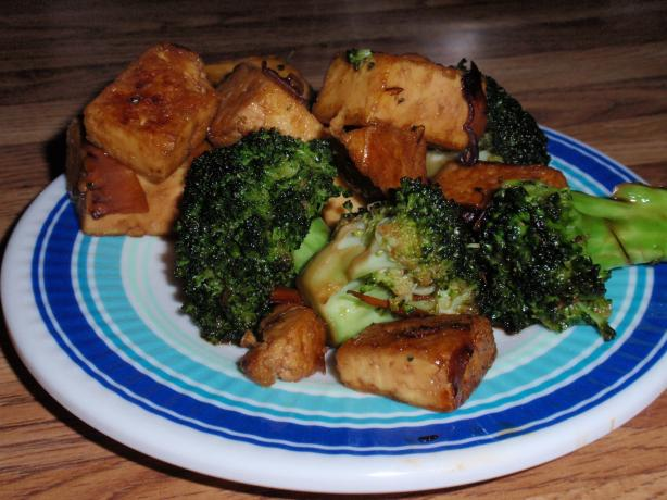 Tofu & Broccoli Teriyaki