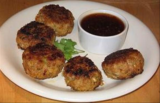 Thai Lamb Patties With Chili Sauce