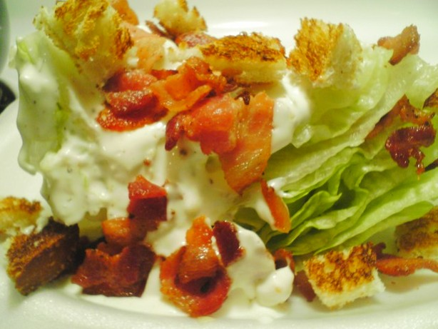 Lettuce Boats With Bleu Cheese and Bacon