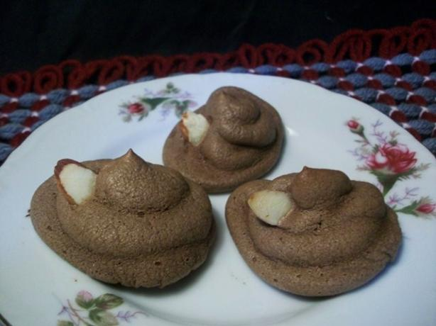 Chocolate Nut Meringues