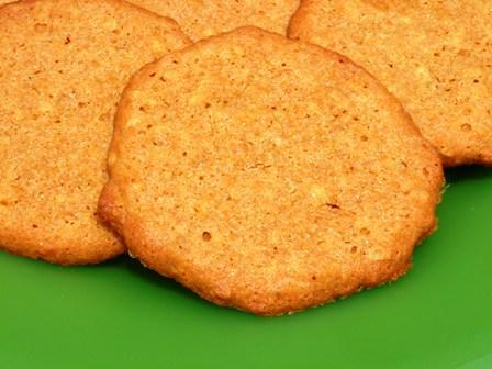 Peanut Molasses Cookies