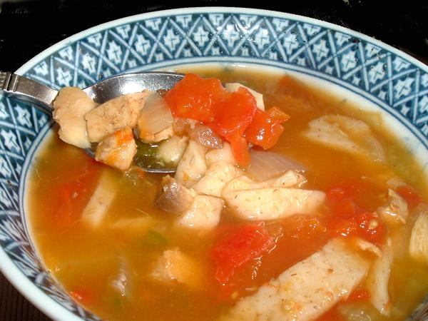 Lisa's Chicken Tortilla Soup