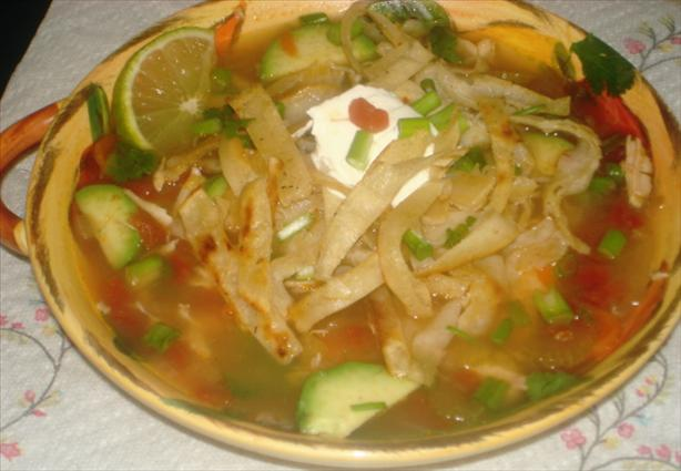 Sopa De Lima (Yucatan Lime Soup)