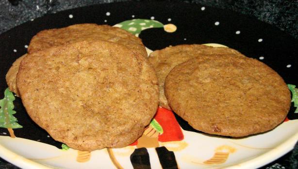 Grandma Clay Spice Cookies