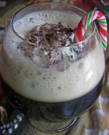 Peppermint Coffee Cream