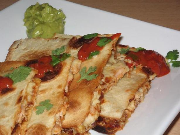 Absolute Best Chicken Quesadillas