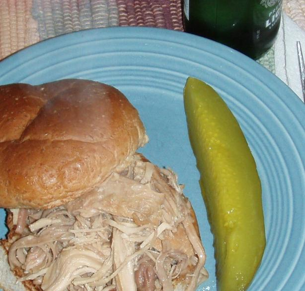 Crock Pot Shredded Turkey