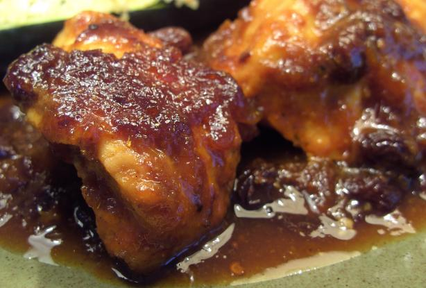 Low Fat Chutney Chicken