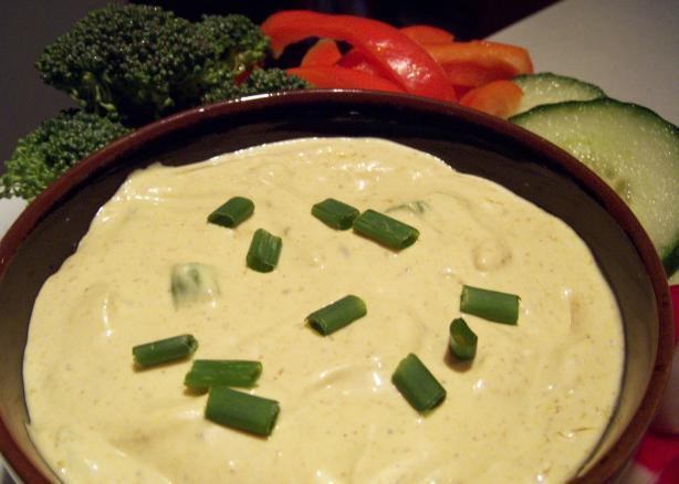 Curry Yogurt Dip