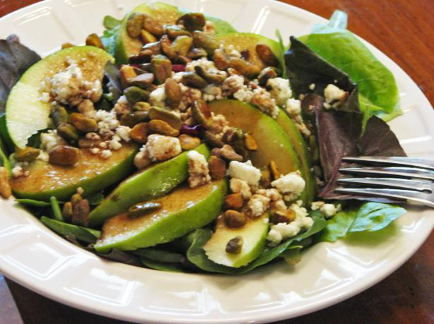 Italian Pistachio Apple Salad