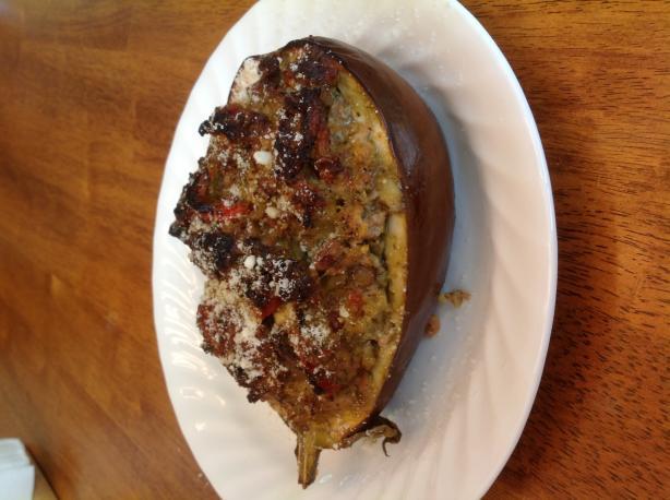 Eggplant Lovers Stuffed Eggplant