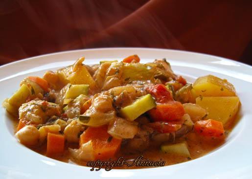 Lebanese Style Vegetable Ragout
