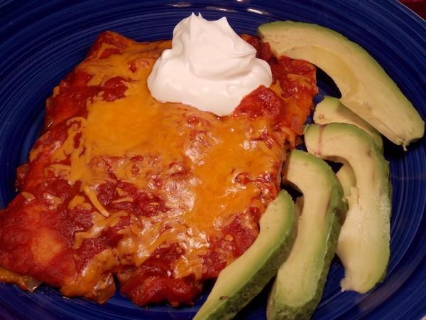 El Coyote Cafe Cheese Enchiladas Ranchera