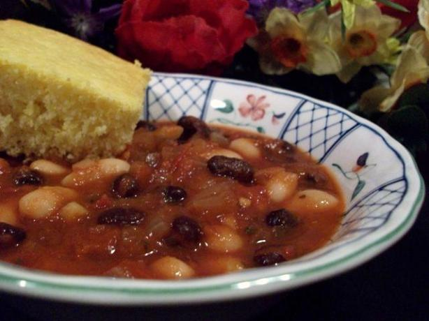 Crock Pot Black Bean Chili