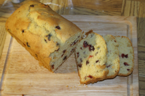 Lemon-Cranberry Quick Bread