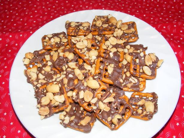 Pretzel Nut Squares