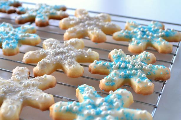 Perfect Sugar Cookie Glaze