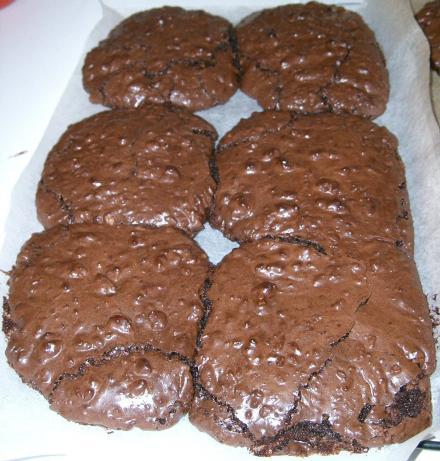 Fudgy Chocolate-Walnut Cookies