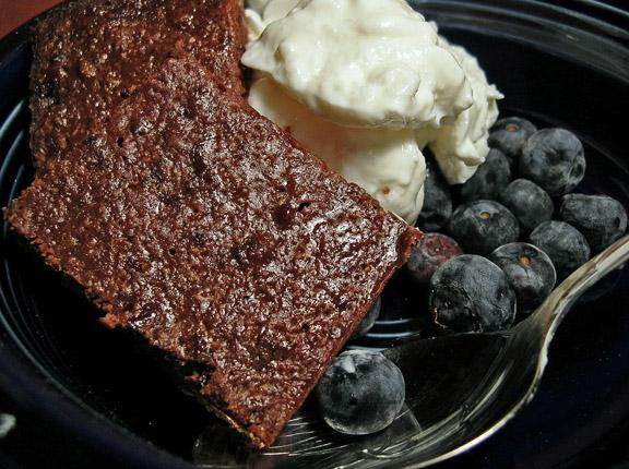 Chewy Lower Fat Brownies