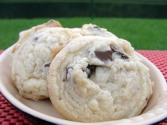 Toblerone Shortbread Cookies
