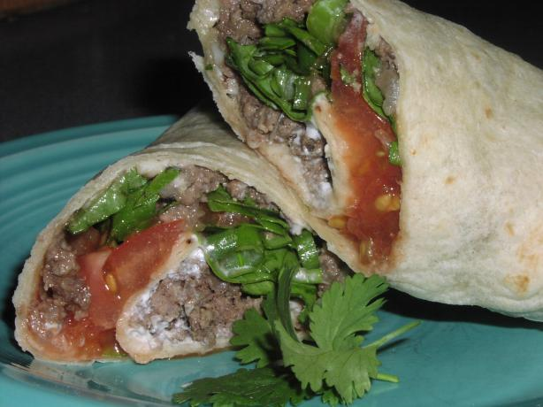 Heather's Mexican Roll-Ups