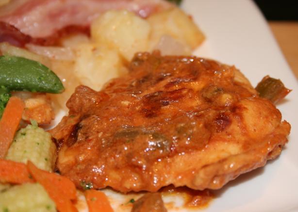 Easy Chicken Picante