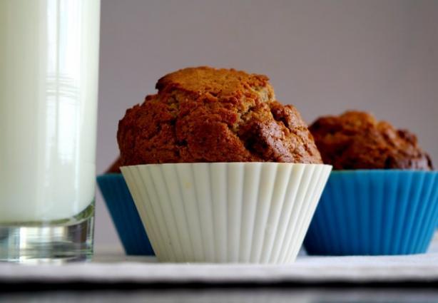 Kim's Cinnamon Flax Muffins
