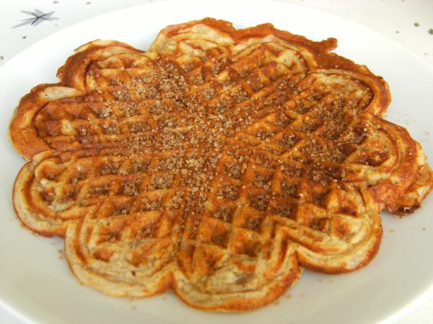 Aunt Jane's Honey Whole Wheat Waffles