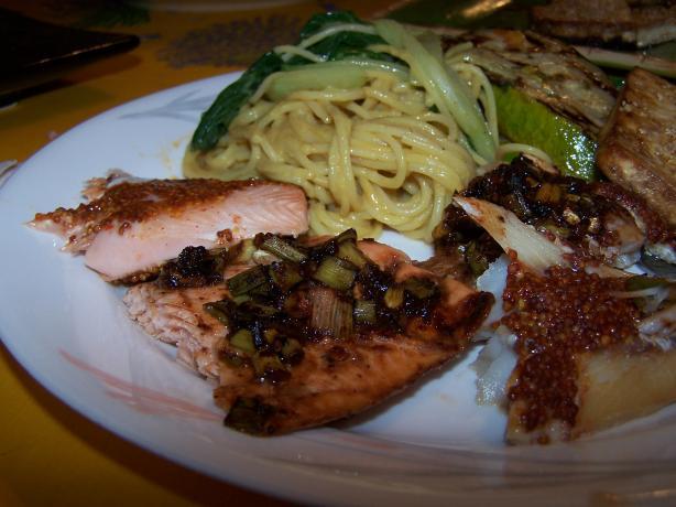 BBQ Plank Salmon