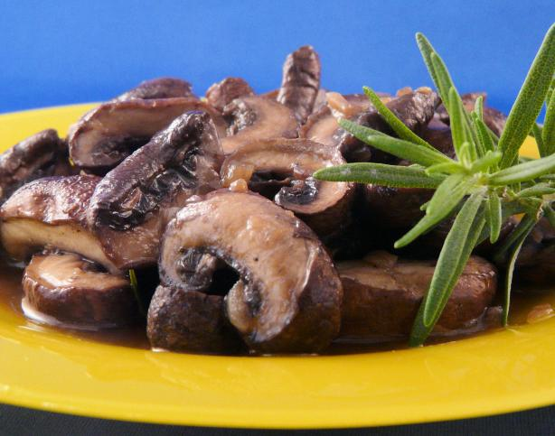 Sauteed Rosemary Mushrooms