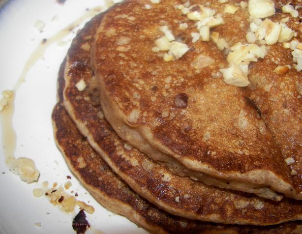 Cinnamon-Hazelnut Pancakes
