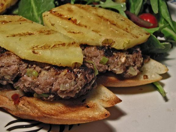 Maui Burgers (Diabetic)